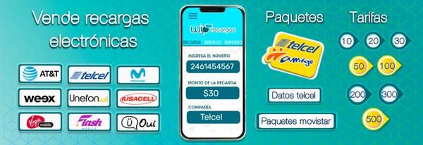 Qué ofrece WipRecargas